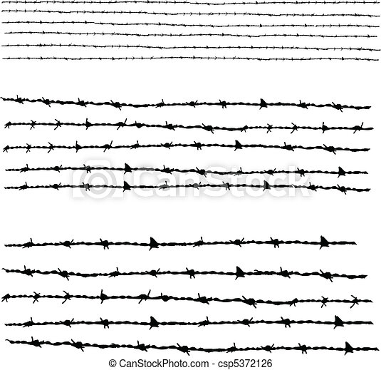 Barbed wire - csp5372126