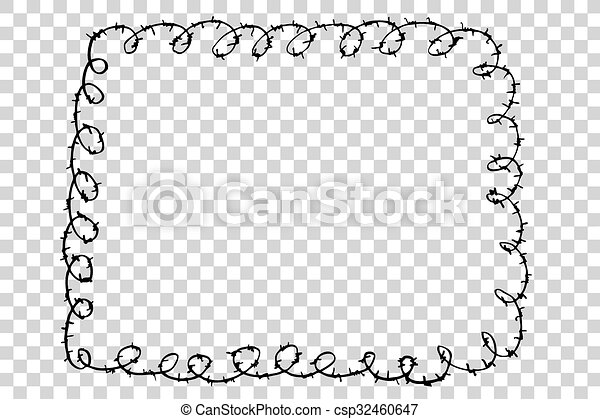 Barbed Wire - csp32460647