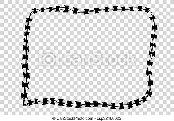 Barbed Wire - csp32460623