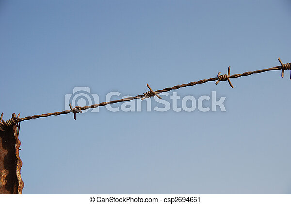 Barbed wire - csp2694661