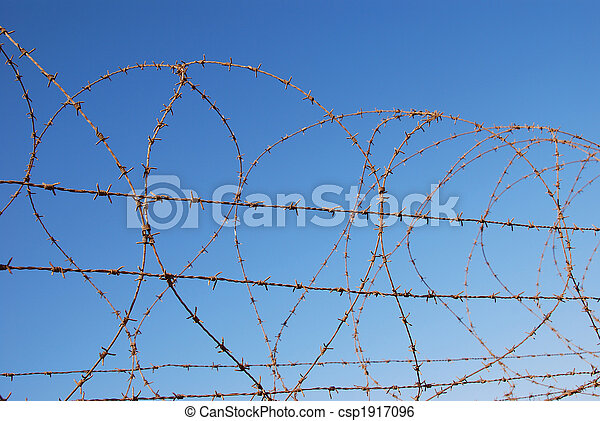 Barbed wire - csp1917096