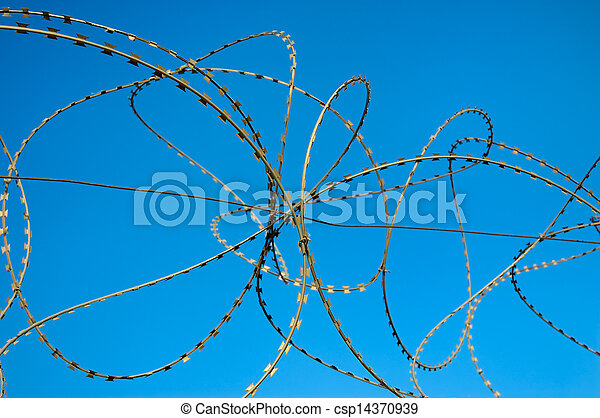 barbed wire - csp14370939