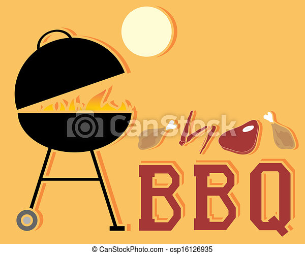 barbeque - csp16126935