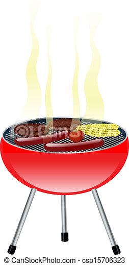 barbeque - csp15706323