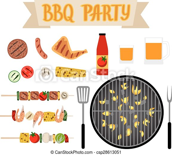 Barbeque party - csp28613051