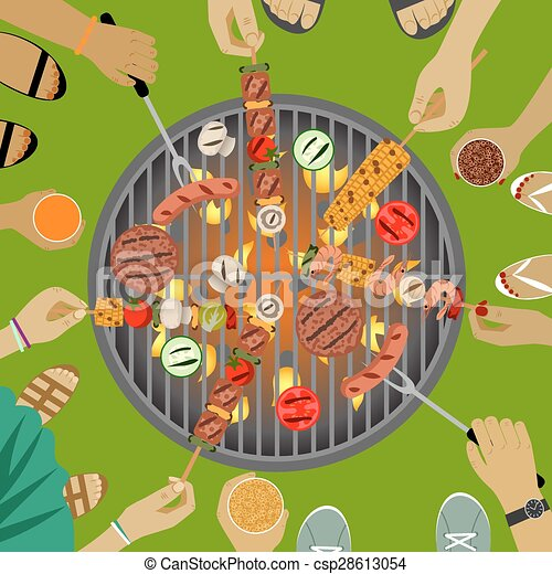 Barbeque party - csp28613054