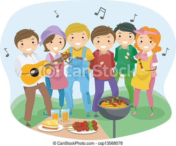 Barbeque Party - csp13568078