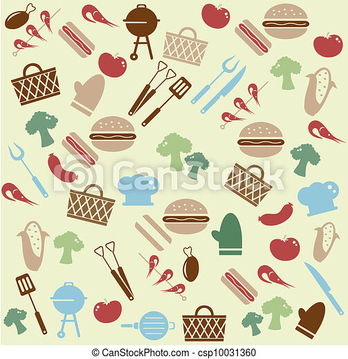 Barbeque pattern - csp10031360