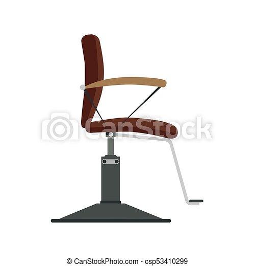 Barber Chair Vector Shop Barbershop Salon Hair Hairdresser Illustration Vintage Haircut Design