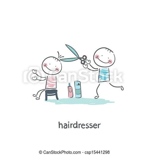 barber - csp15441298
