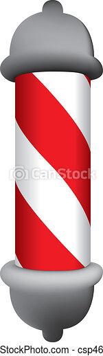 barber pole - csp4629088