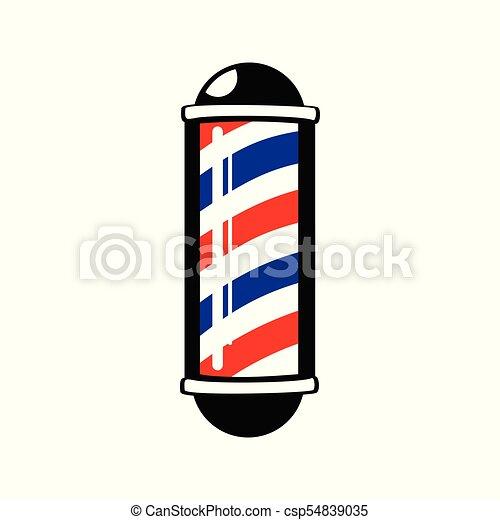 barber s pole stripes symbol vector graphic badge design vectors rh canstockphoto com
