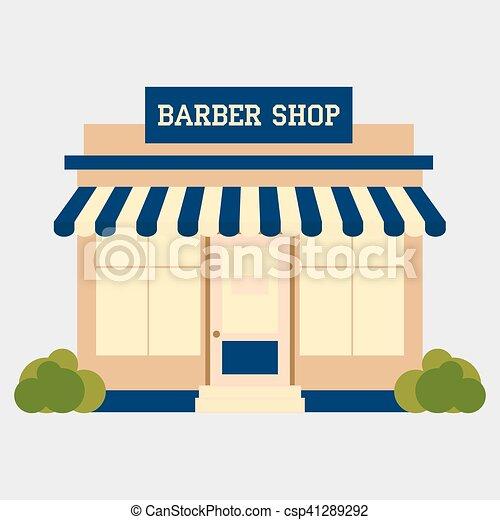 Barbershop - csp41289292