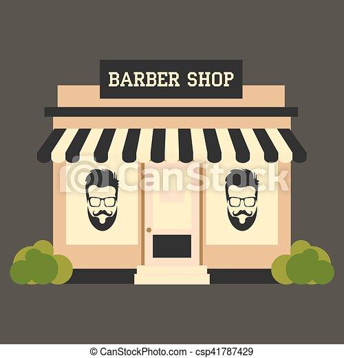Barbershop - csp41787429