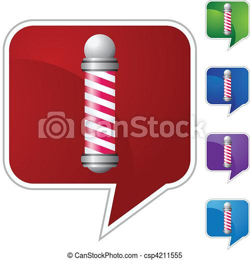 Barbershop Pole - csp4211555