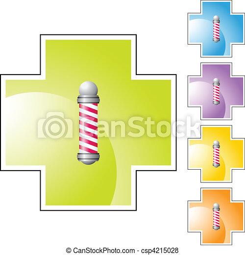 Barbershop Pole - csp4215028