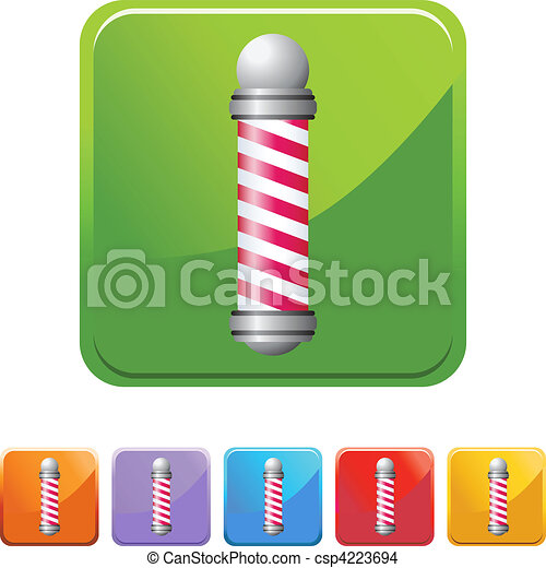 Barbershop Pole - csp4223694