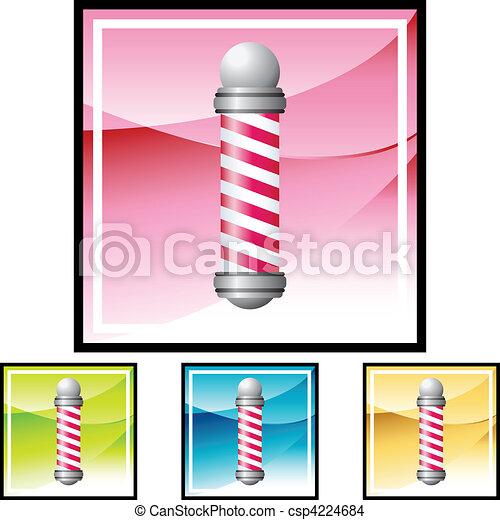 Barbershop Pole - csp4224684