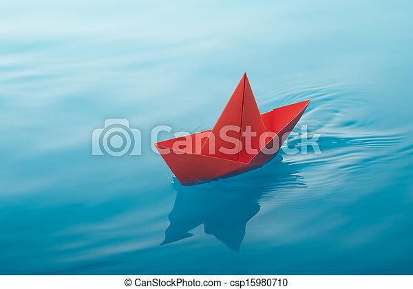 barca carta, navigazione - csp15980710