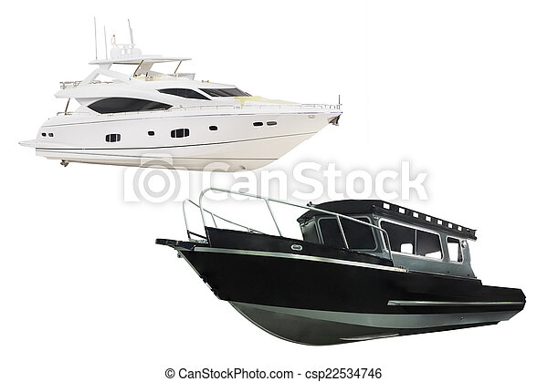 barca motore - csp22534746