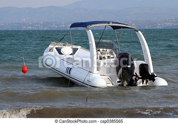 barca motore - csp0385565