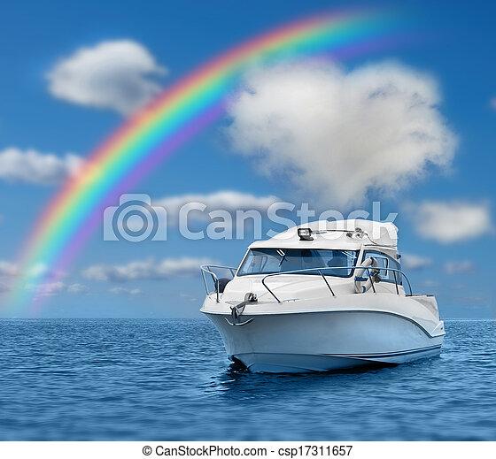 barca motore - csp17311657