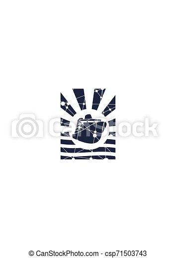 El icono del ferry - csp71503743