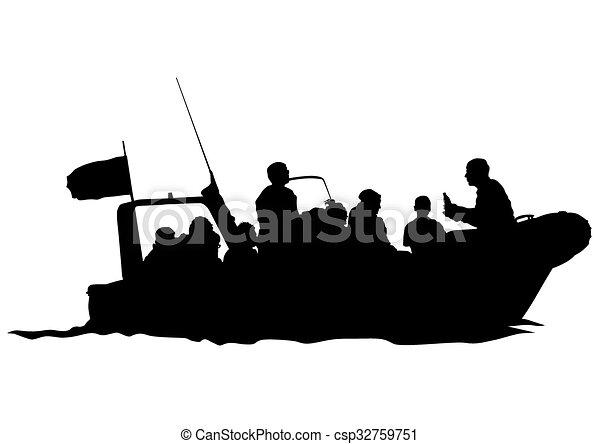 Barco de motor - csp32759751