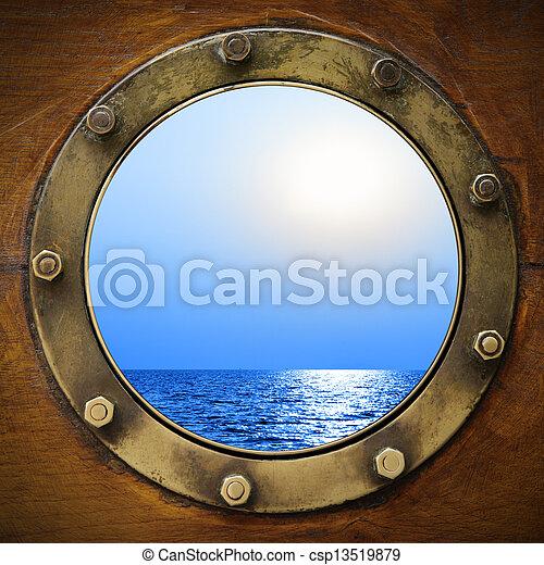 barco, portilla - csp13519879