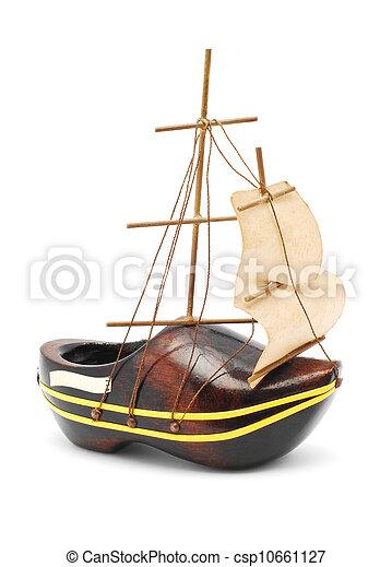 Un barco de recuerdo - csp10661127
