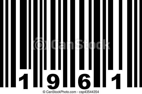 barcode 1961 clipart vector search illustration drawings and eps