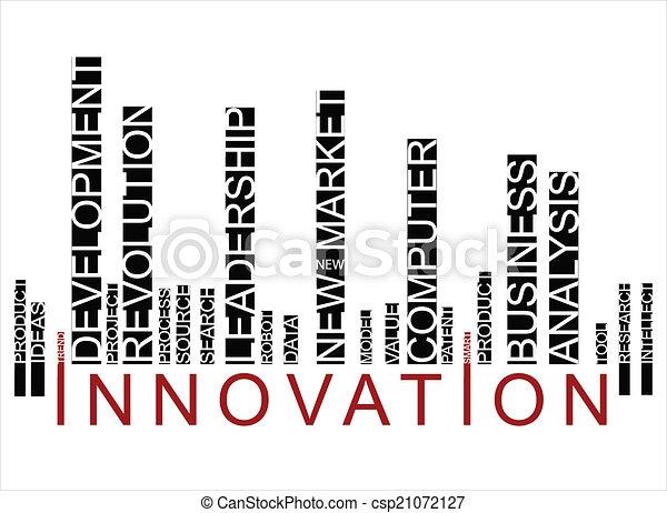 barcode, coloré, innovationtext - csp21072127