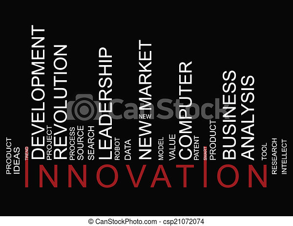 barcode, coloré, innovationtext - csp21072074