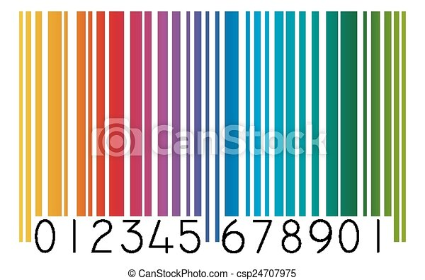 barcode colored vectors illustration search clipart drawings and rh canstockphoto com barcode clip art without numbers barcode clip art free