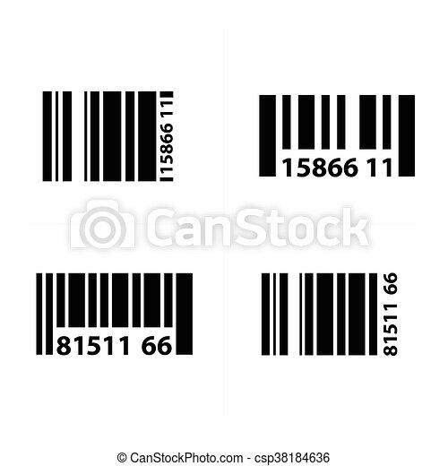 barcode design vector vectors search clip art illustration
