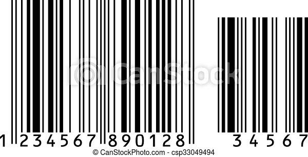 barcode vector illustration conceptual illustration eps