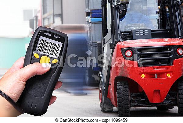 Escáner de código de barras - csp11099459