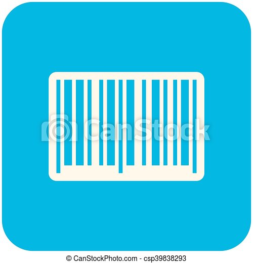 barcode icon modern flat design eps vectors search clip art rh canstockphoto com barcode clip art free clipart barcode scanner