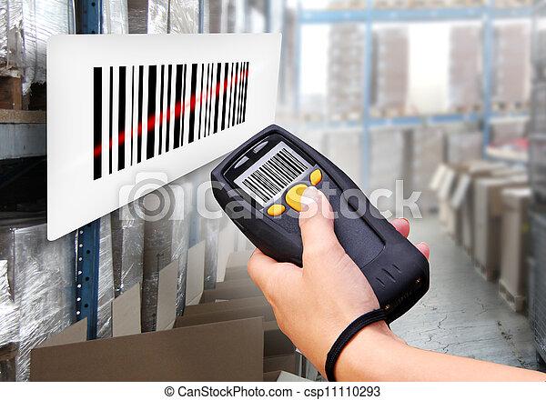 Barcode Scanner - csp11110293
