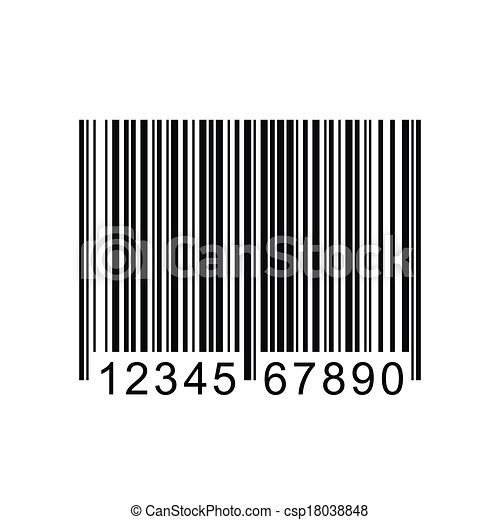 barcode vector illustration vector image of a barcode eps