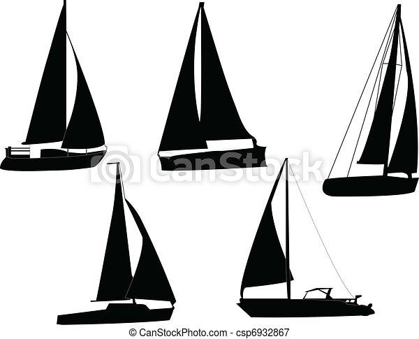 Dibujo Barco De Vela