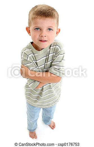 Barefoot Boy Child - csp0176753