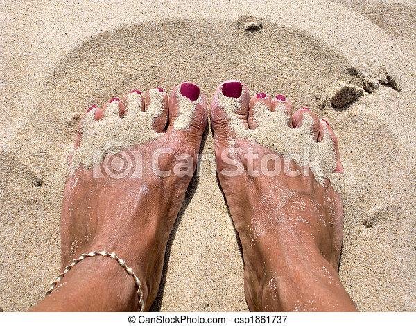 Barefoot - csp1861737