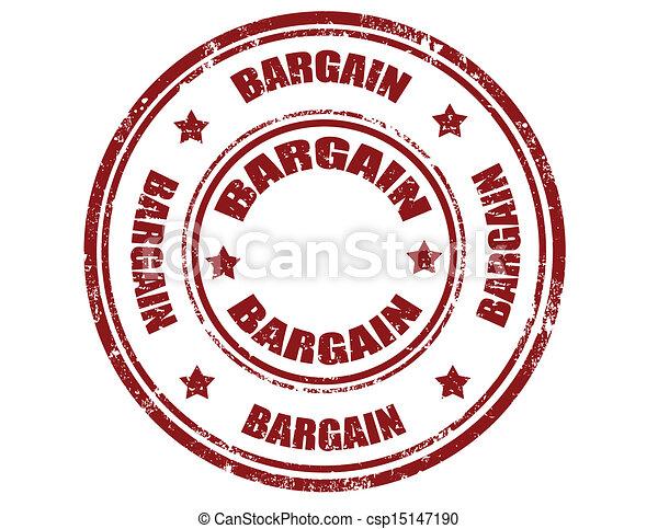 Bargain-stamp - csp15147190