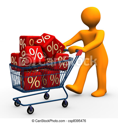 Bargain - csp8395476
