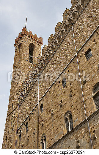 Bargello Palace in Florence - csp26370294