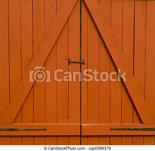 Barn Doors - csp0396379