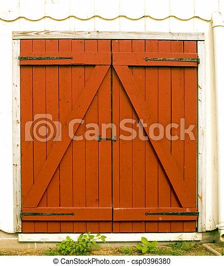 Barn Doors - csp0396380