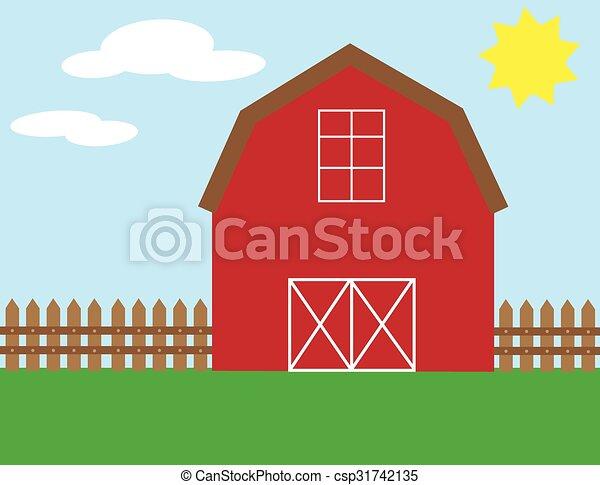 Barn - csp31742135