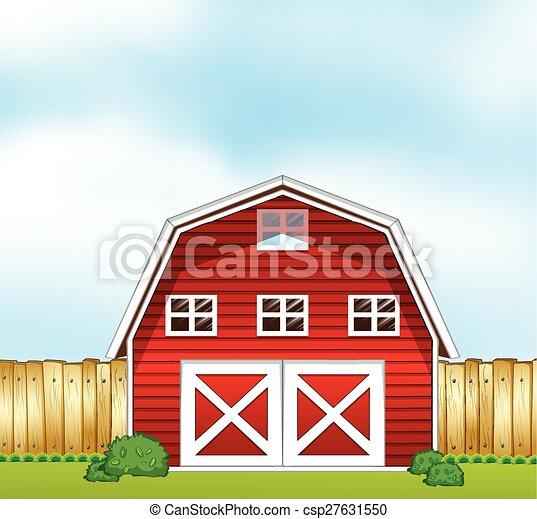 Barnhouse Single In The Farmland